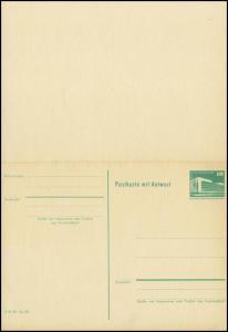 P 85 Bauwerke Klein 10/10 Pf Palast der Republik, grün 1982, postfrisch