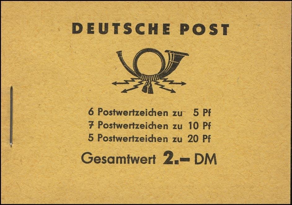 MH 3b1.61 Fünfjahrplan 1961 mit 4 PLF Fleck & Loch & Punkte Werkstück ** 0