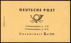 MH 4a3 Ulbricht 1962 - postfrisch
