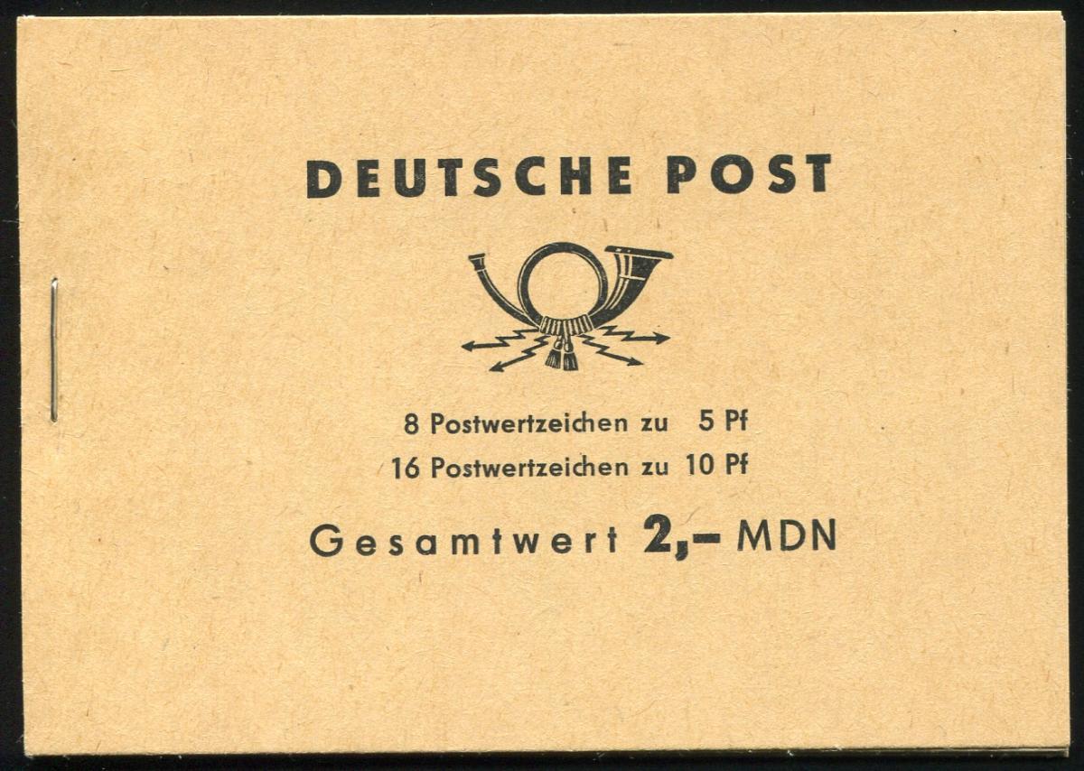 MH 4b3 Ulbricht der Ausgabe von 1966 - postfrisch ** 0