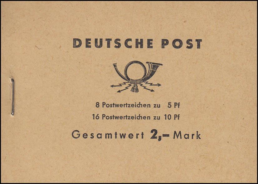 MH 4c1c Ulbricht 1968 - postfrisch 0