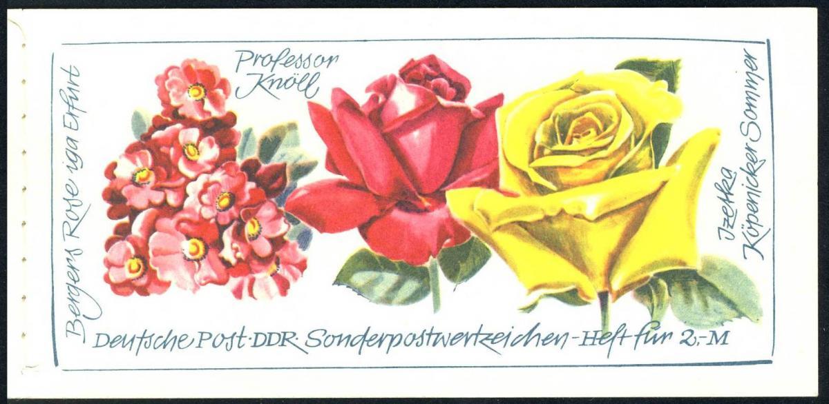 MH 6 I 1a Rosenausstellung - postfrisch 0