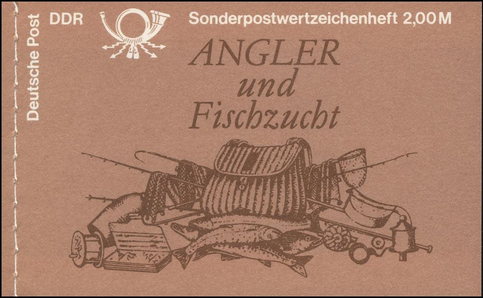 MH 9v1.1I Süßwasserfische 1988 - ESSt Berlin 29.11.88 0