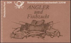 MH 9v1.2I Süßwasserfische 1988/118 mm - postfrisch