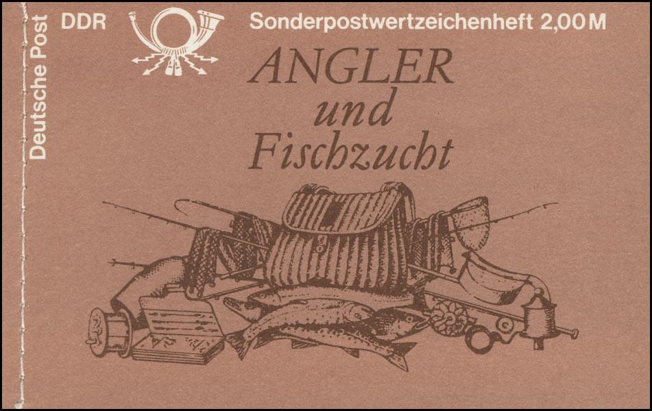 MH 9w1 Süßwasserfische 1988 - ESSt Berlin 29.11.88 0