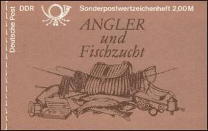 MH 9w1 Süßwasserfische 1988 - PLF: roter Punkt unter der 10, Feld 2 **