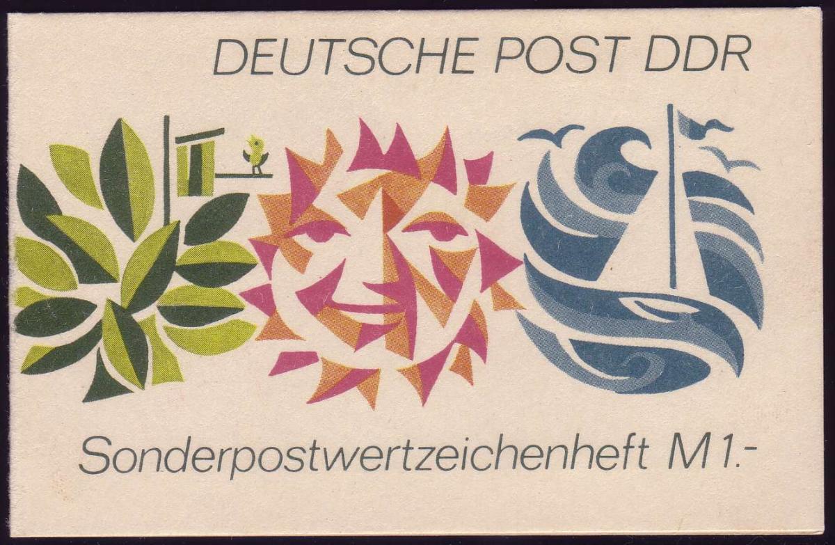 SMHD 3d Freizeit 1 Mark 1973 - postfrisch 0