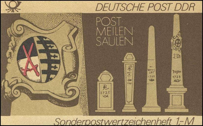 SMHD 13 Postmeilensäulen - postfrisch 0