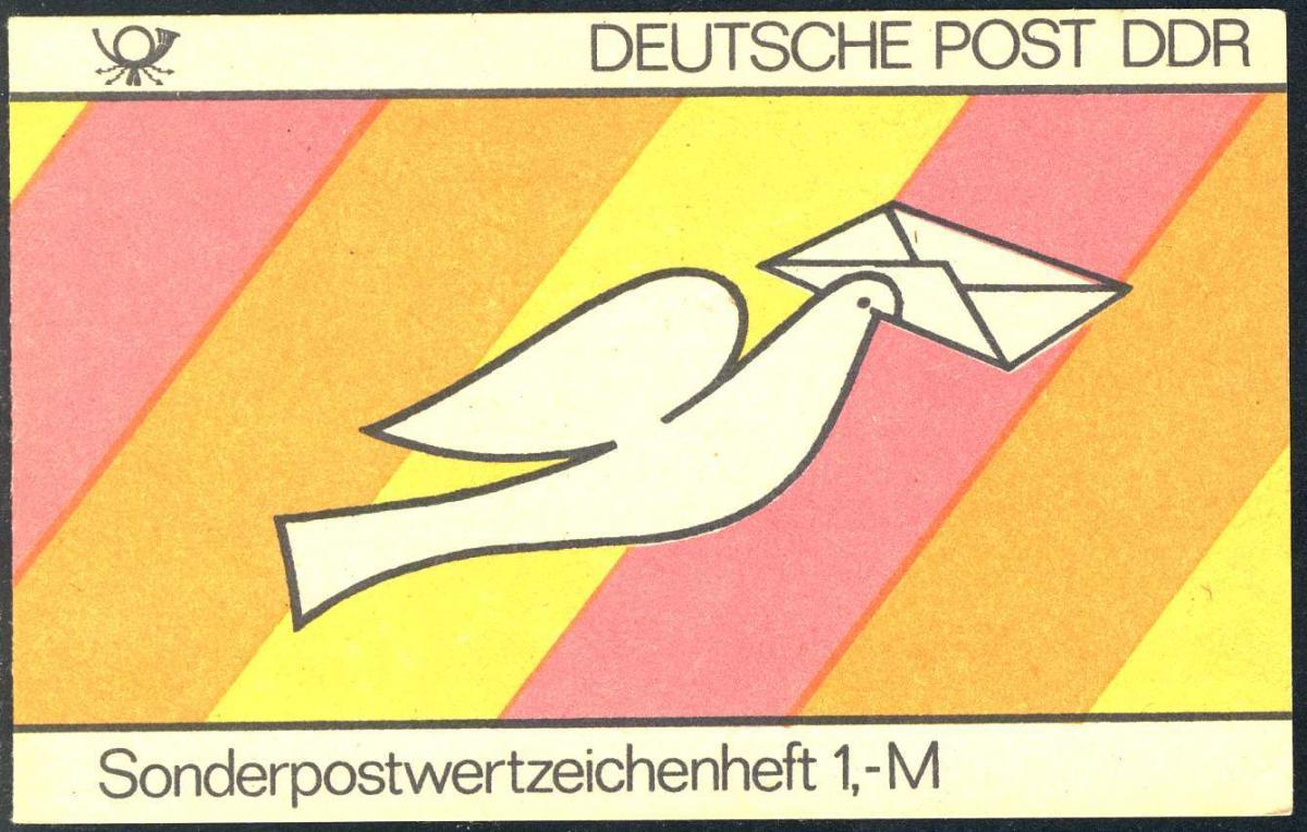 SMHD 18 Brieftaube 1985 mit DDF auf 4.DS Kerbe im S von Sonder-, ** 1