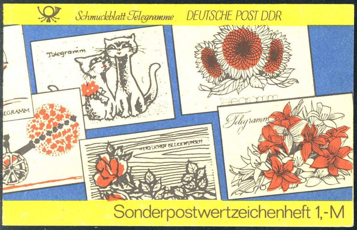SMHD 19 Telegramme 1985 - postfrisch ** 0