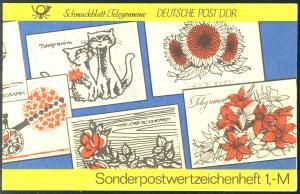 SMHD 19 Telegramme 1985 mit 2910 und VS-O Berlin ZPF