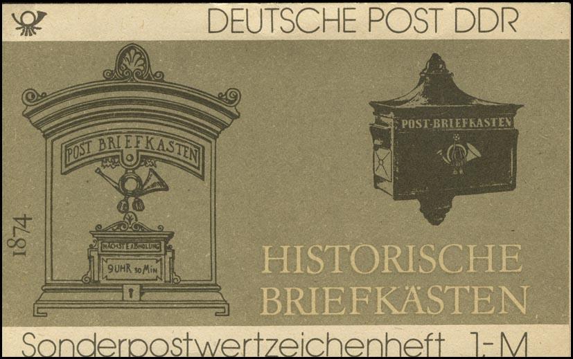 SMHD 22 Briefkästen 1985 - postfrisch 0