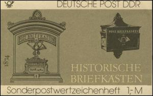 SMHD 22 Briefkästen 1985 mit VS-O Berlin ZPF
