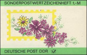 SMHD 30 Blumen 1987 - mit VS-O Berlin ZPF