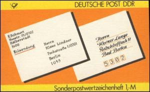 SMHD 34 Postanschrift national - mit VS-O Berlin ZPF