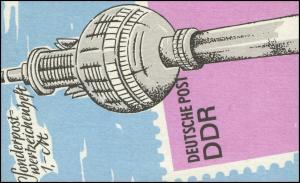 SMHD 36 a Fernsehturm - postfrisch