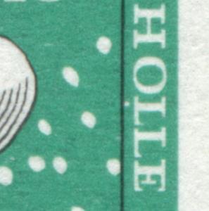 311 Wofa 20 Pf mit PLF weißer Fleck unter L von HOLLE, Feld 38, **