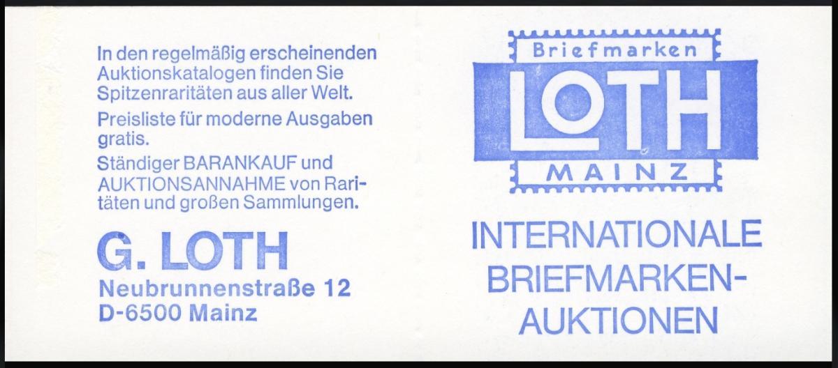 23e MH BuS 1980 Variante c - mit Zählbalken, ** 1
