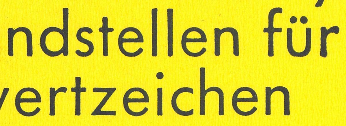 23e MH BuS 1980 Variante c - mit Zählbalken, ** 2