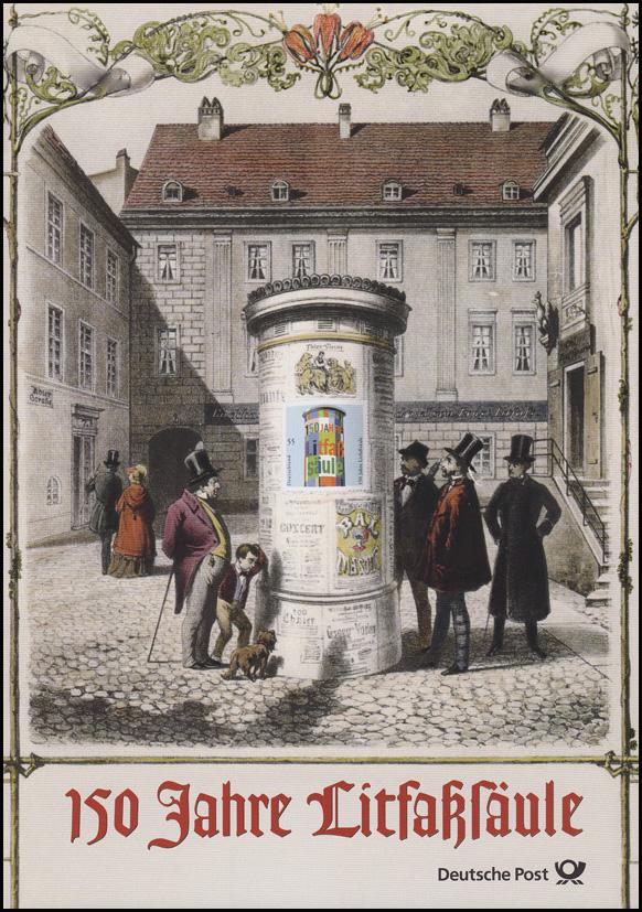 2444 Litfaßsäule -  EB 1/2005 0