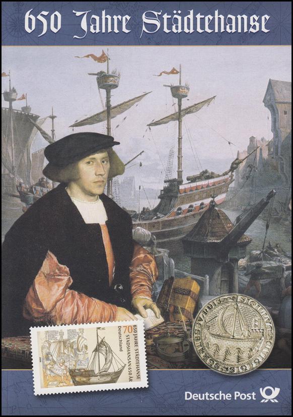2558 Städtehanse und Hansekogge -  EB 5/2006 0
