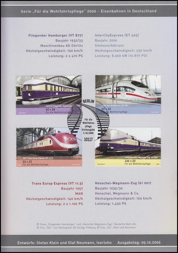 2560-2563 Wofa 2006 Eisenbahn - EB 6/2006 1
