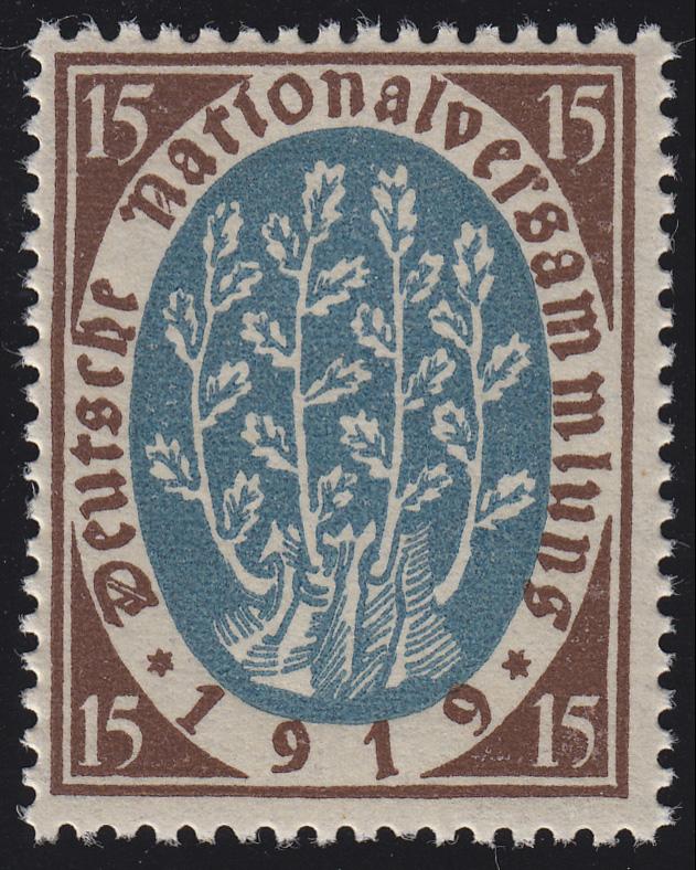 108 Nationalversammlung 15 Pf ** 0