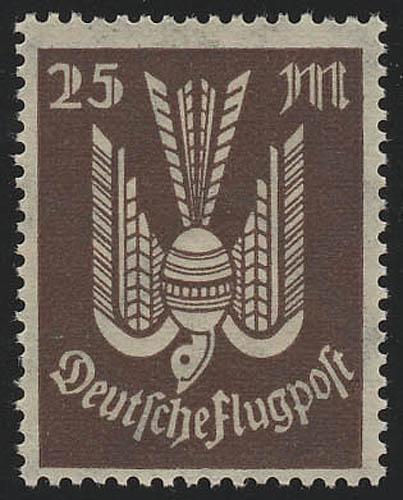 265 Flugpostmarken Holztaube 25 M(ark), postfrisch ** 0