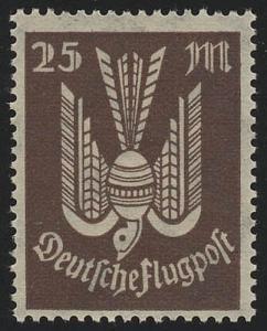 265 Flugpostmarken Holztaube 25 M(ark), postfrisch **