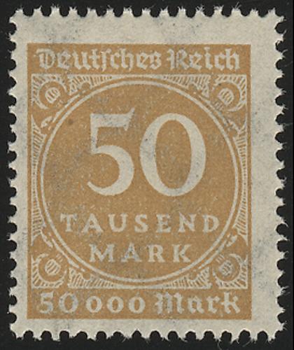 275a Ziffern im Kreis 50 Tsd M(ark), postfrisch ** 0