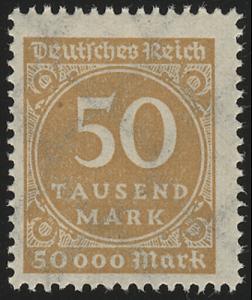 275a Ziffern im Kreis 50 Tsd M(ark), postfrisch **