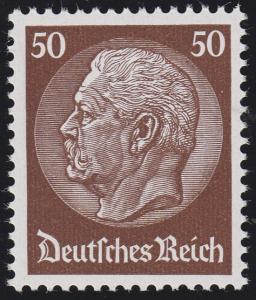 473 Hindenburg-Medaillon 50 Pf **
