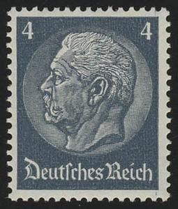 514X Hindenburg-Medaillon 4 Pf **