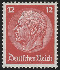 519X Hindenburg-Medaillon 12 Pf **