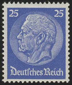 522Xa Hindenburg-Medaillon 25 Pf **