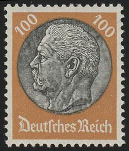 528X Hindenburg-Medaillon 100 Pf **
