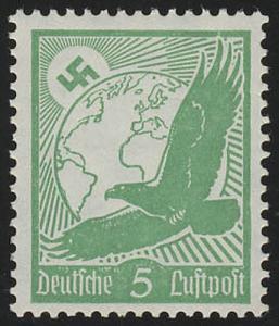 529x Flugpostmarke 1934 5 Pf **