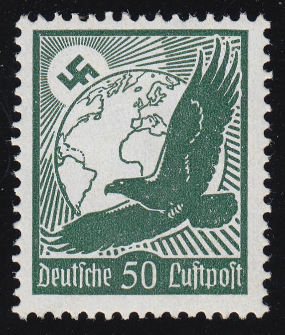 535x Flugpostmarke 1934 50 Pf ** 0