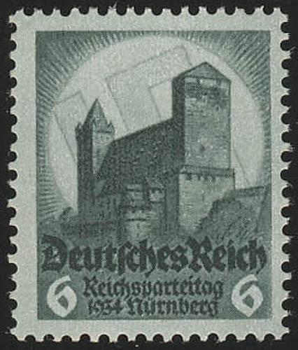 546 Nürnberger Parteitag 6 Pf ** 0