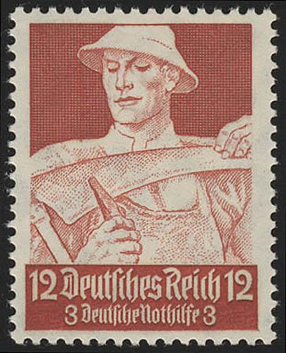561 Nothlife Berufsstände Bauer 12 Pf ** 0