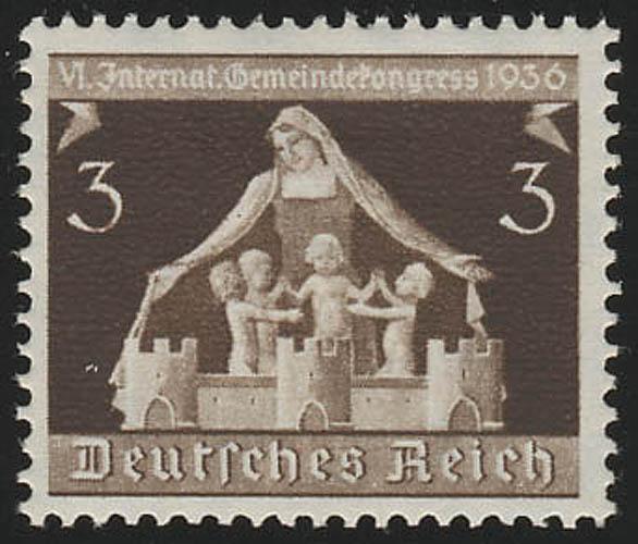617 Gemeindekongreß 3 Pf ** postfrisch / MNH 0