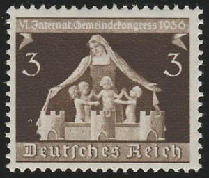 617 Gemeindekongreß 3 Pf ** postfrisch / MNH