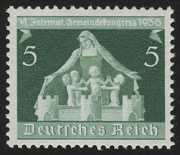 618 Gemeindekongreß 5 Pf ** postfrisch / MNH 0