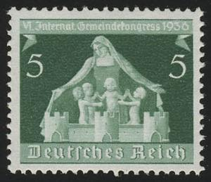 618 Gemeindekongreß 5 Pf ** postfrisch / MNH