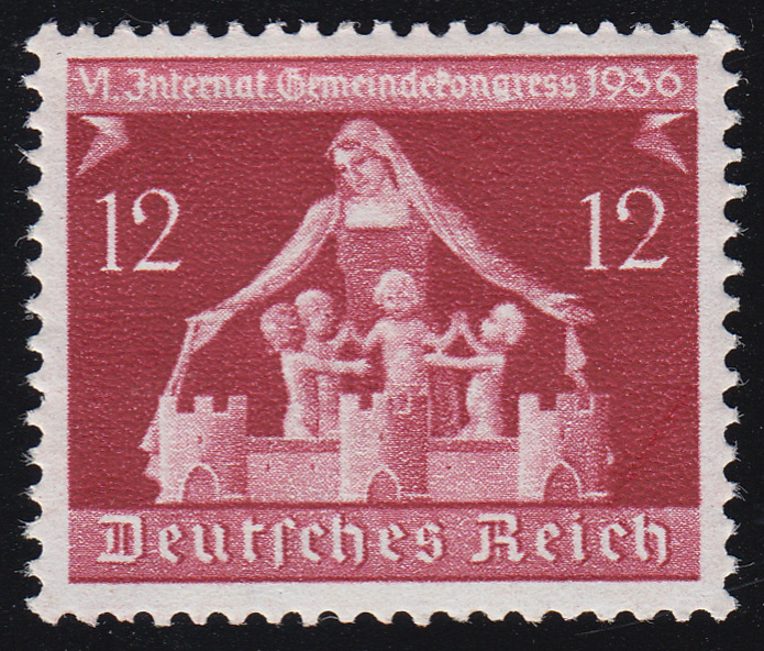 619 Gemeindekongreß 12 Pf ** postfrisch / MNH 0