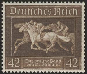 621X Das Braune Band 1936 aus Block 4, ** postfrisch
