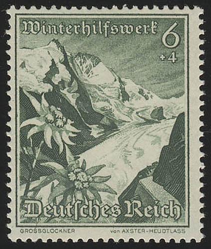678 WHW Großglockner/Edelweiß 6+4 Pf ** 0