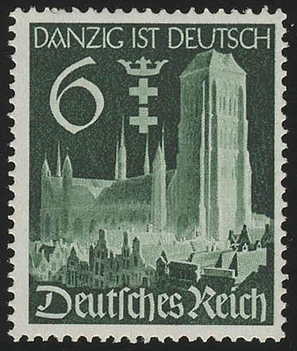 714 Wiedereingliederung Danzigs 6 Pf ** 0