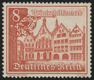 734 Winterhilfswerk Bauwerke 8 Pf **