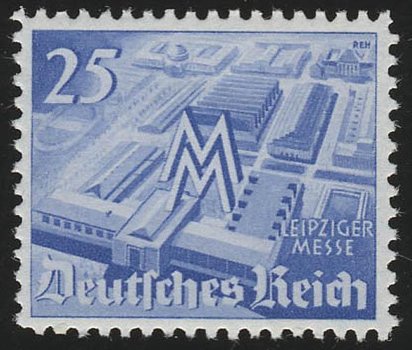 742 Leipziger Frühjahrsmesse 25 Pf ** 0